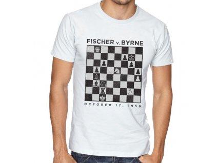 Pánské tričko FISCHER v. BYRNE 1956