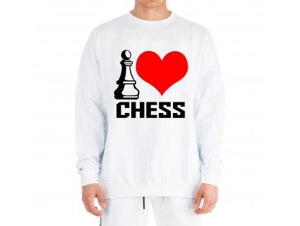 Mikina Miluji šachy