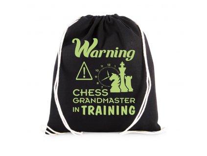 Vak Varování šachový velmistr trénuje