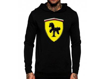 mikina Ferrari kůň