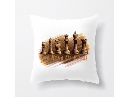 Polštář Král šachu