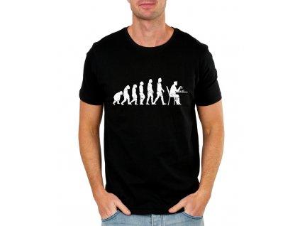 Pánské tričko Šachy evoluce
