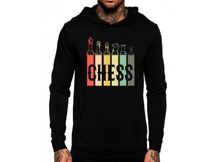 Mikina s kapucí Šachy