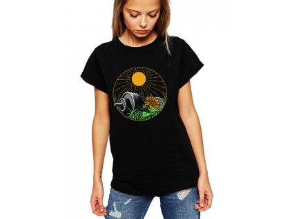 Dámské tričko Fitness Léto