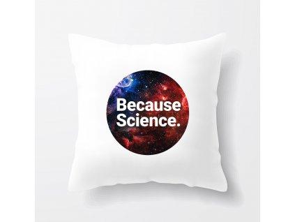 Polštář Protože Věda