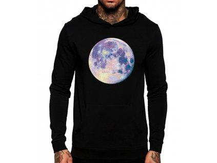 Mikina s kapucí Měsíc