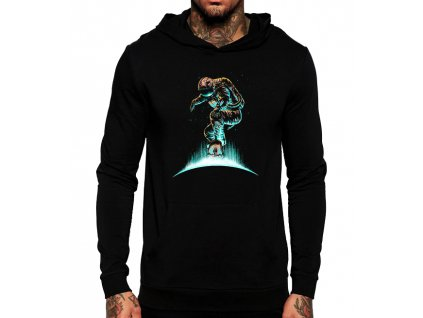 Mikina s kapucí Vesmír skate