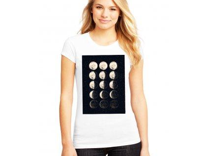 Dámské tričko Cyklus měsíce