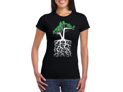 Dámské tričko Strom