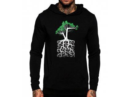 Mikina s kapucí Strom