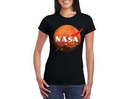 Dámské tričko Cesta na mars nasa