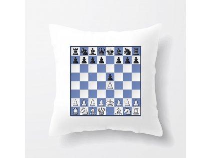 Polštář Bongcloud šachy