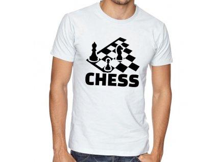 Pánské tričko Šachy