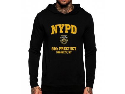 Mikina NYPD s kapuci