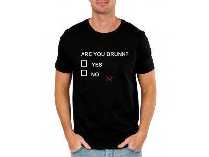pánské tričko Jsi opilý