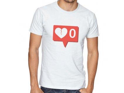 Pánské tričko Žádné notifikace instagram