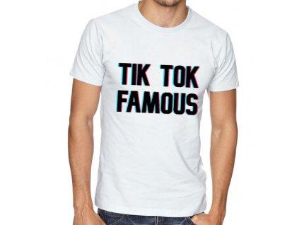 Pánské tričko Tik tok populární