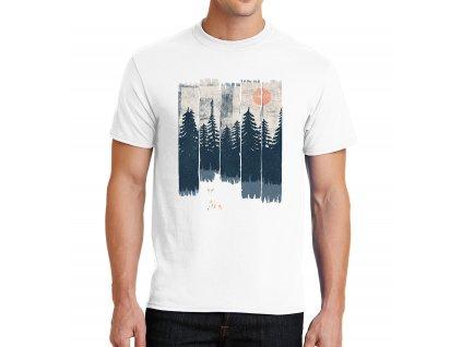 Pánské tričko Liška ve volné přírodě