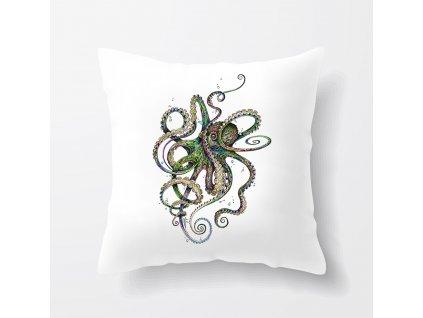 Polštář Chobotnice