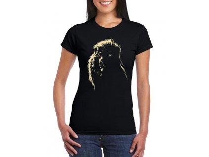 Dámské tričko Lev král