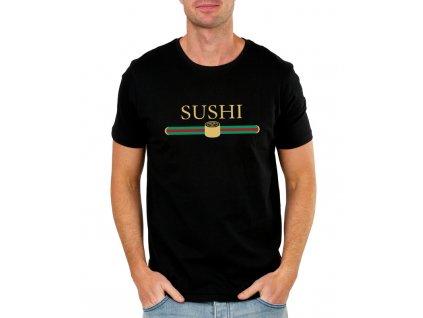 Pánské tričko Sushi aka Gucci