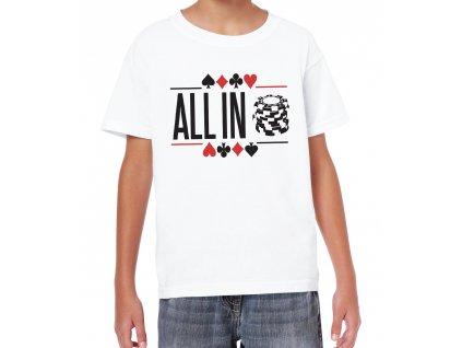 Dětské tričko ALL IN