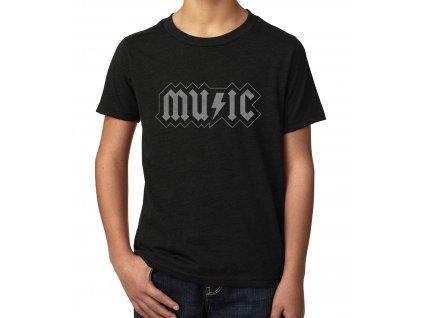 Dětské tričko AC DC Music