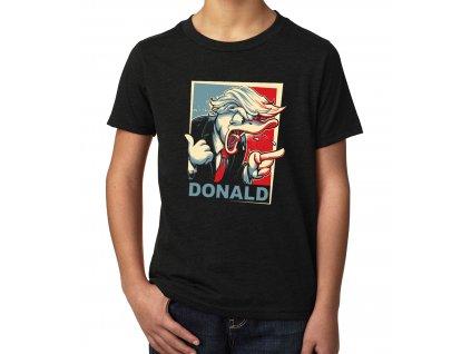 Dětské tričko Donald Trump