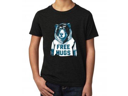 Dětské tričko Medvěd Objetí Zdarma