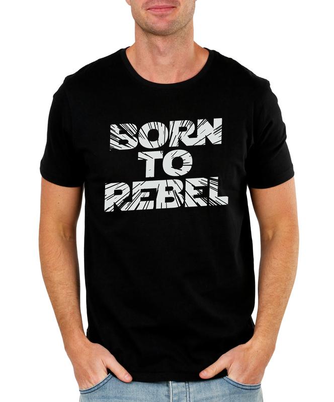 Pánské tričko Rebel Velikost: XXL
