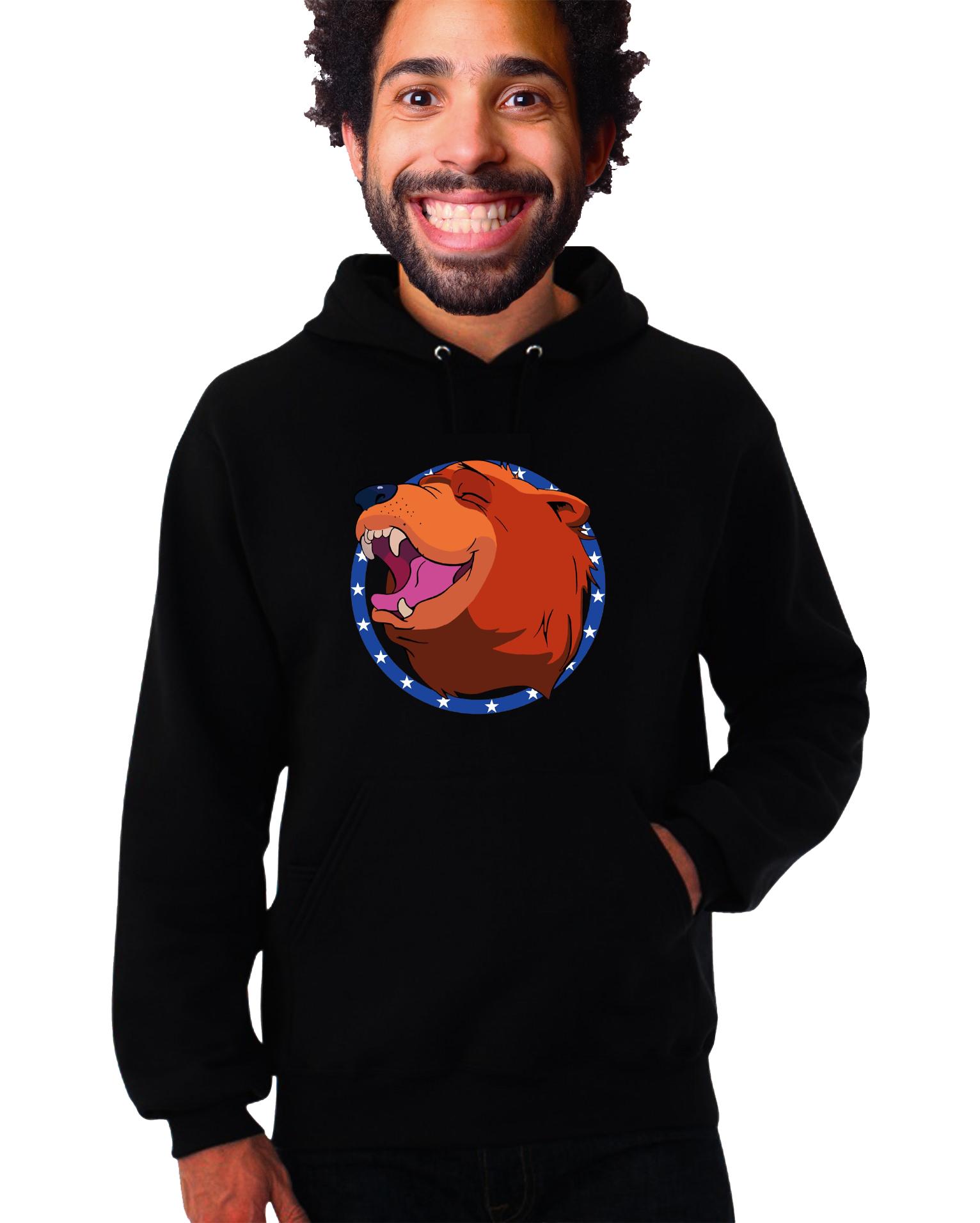 Mikina Far Cry - Medvěd Typ: S kapucí, Velikost: XXL