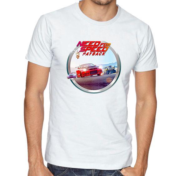 Pánské tričko Need for Speed Payback Velikost: XXL