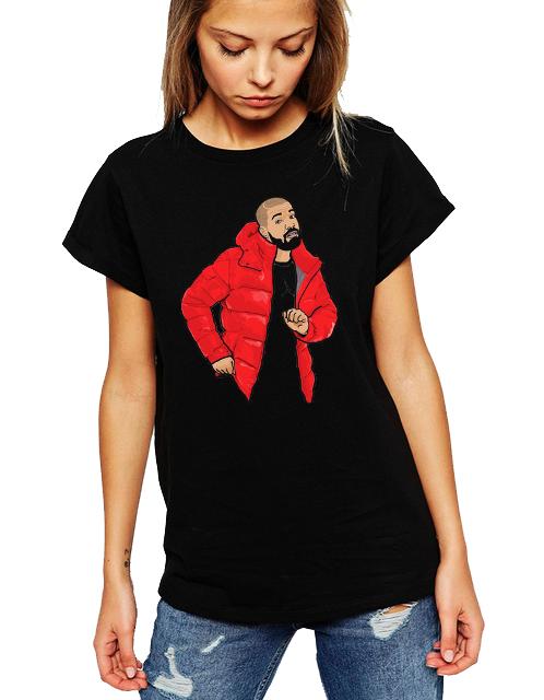 Dámské tričko Drake Velikost: XL
