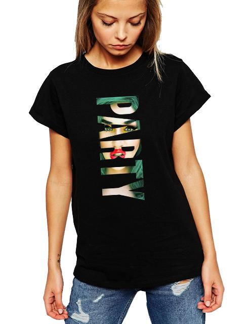 Dámské tričko Sexy Party Velikost: XL
