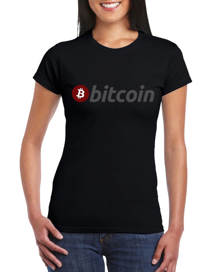 Dámské tričko Bitcoin Velikost: XL