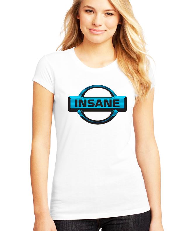 Dámské tričko Insane Parodie Nissan Velikost: XXL