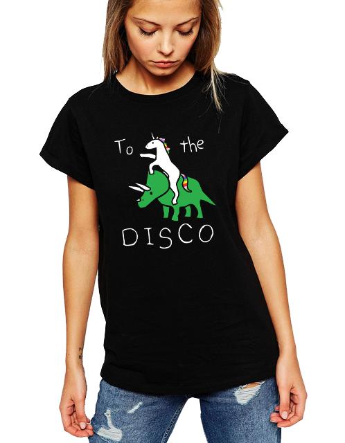 Dámské tričko Směr Diskotéka Velikost: XXL