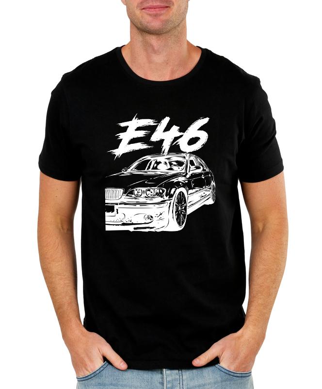 Pánské tričko BMW E46 Velikost: M, Barva: Černá