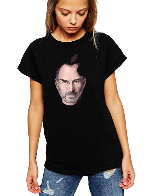 Dámské tričko Steve Jobs Apple Velikost: XL
