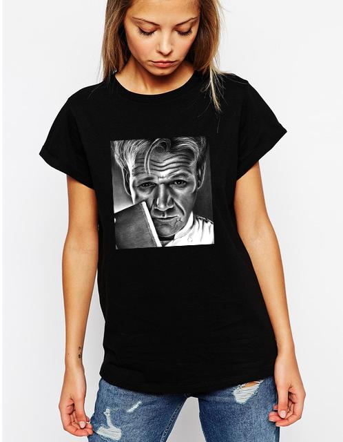 Dámské tričko Gordon Ramsay Velikost: XXL