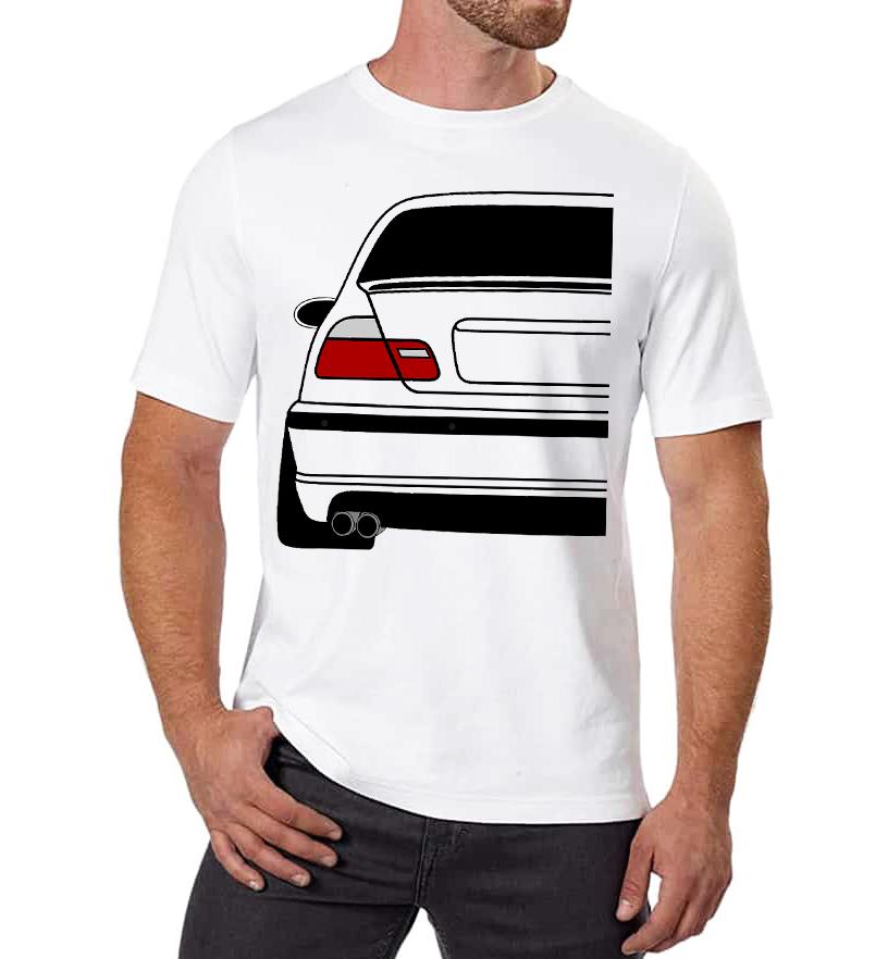 Pánské tričko BMW E46 Zadek Velikost: M