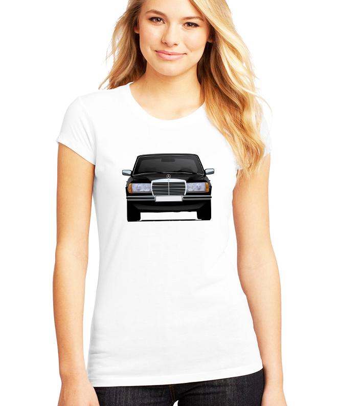 Dámské tričko Mercedes Benz W123 Velikost: XXL