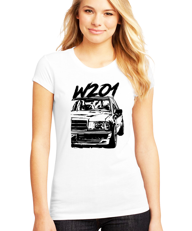 Dámské tričko Mercedes Benz W201 Velikost: XXL