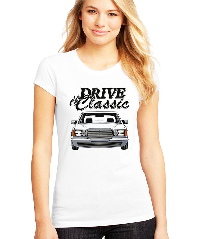 Dámské tričko Mercedes Benz W126 Velikost: XXL