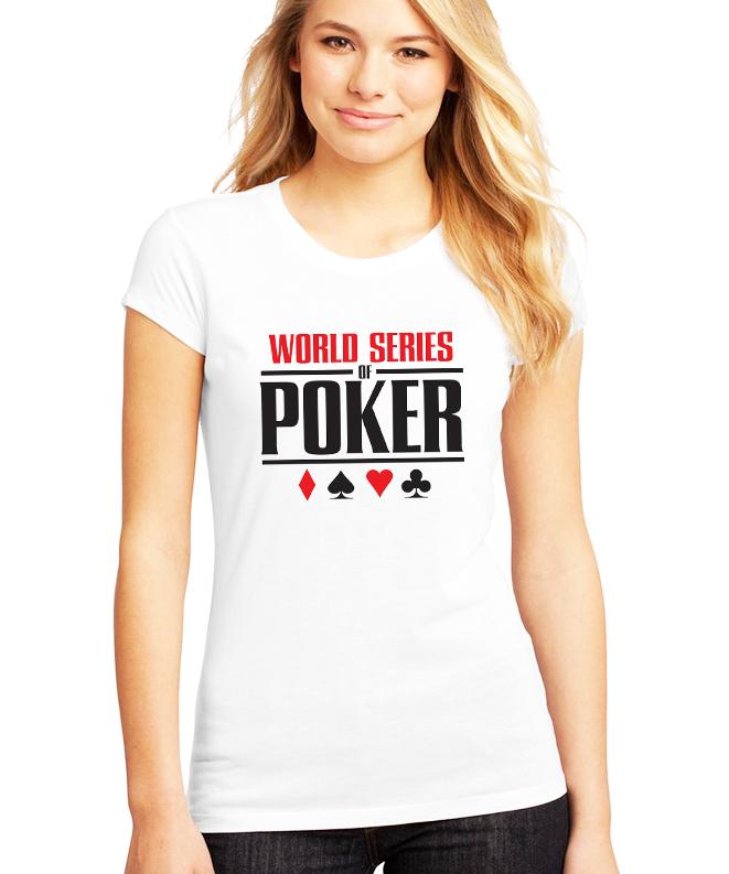 Dámské tričko WSOP Velikost: XXL