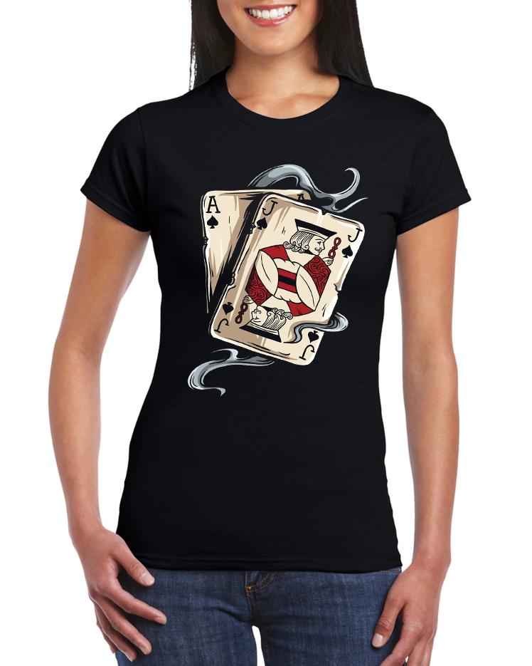 Dámské tričko Poker AJ Velikost: XXL