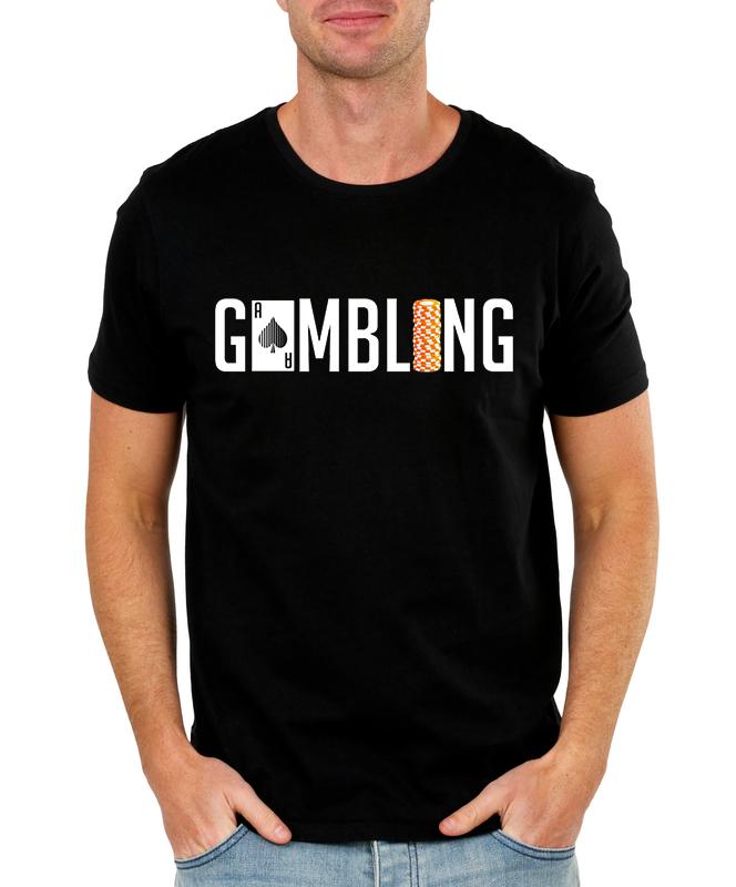 Pánské tričko Gamblerství Velikost: XXL