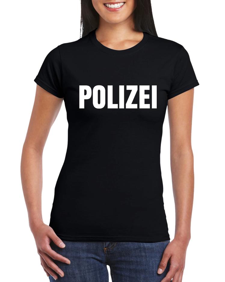 Dámské tričko Německá policie Polizei Velikost: XXL