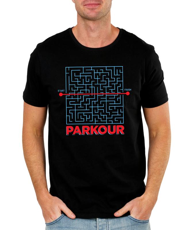 Pánské tričko Parkour Velikost: XL