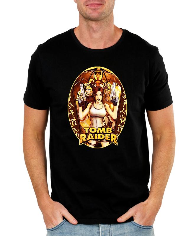 Pánské tričko Tomb Raider - Lara Croft Velikost: XXL